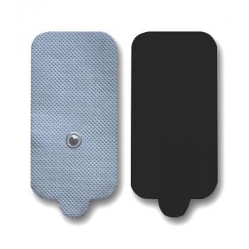 Прямоугольные кнопочные электроды 45x90 мм, на тканевой основе